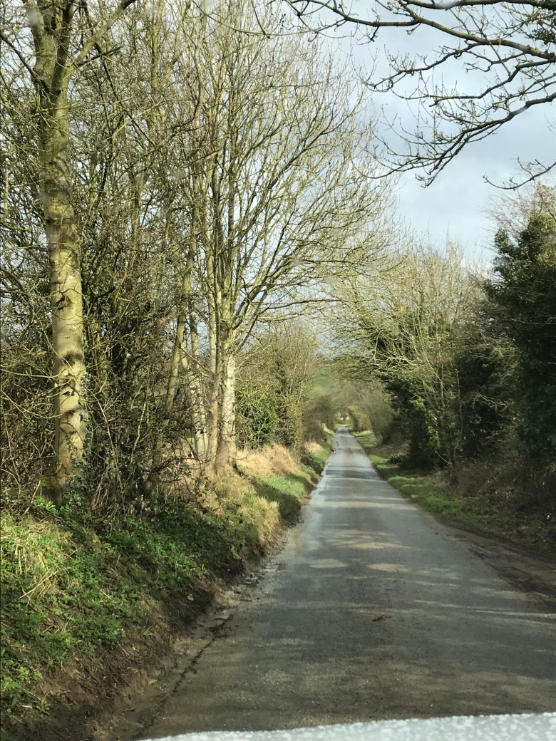 road in Cotswolds