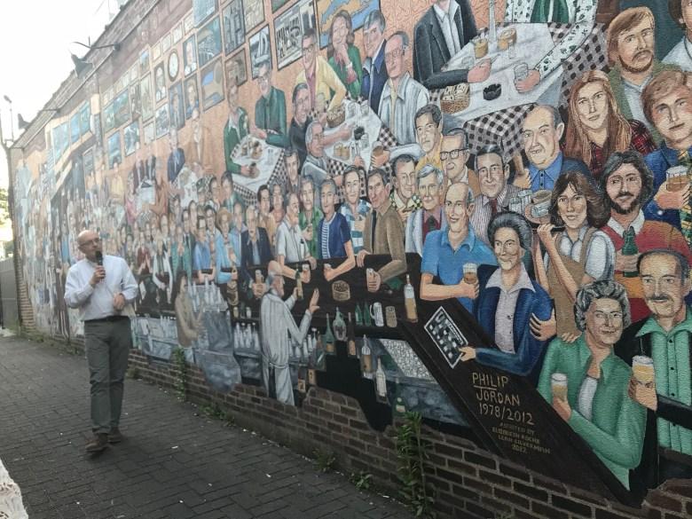 Finnegan's mural