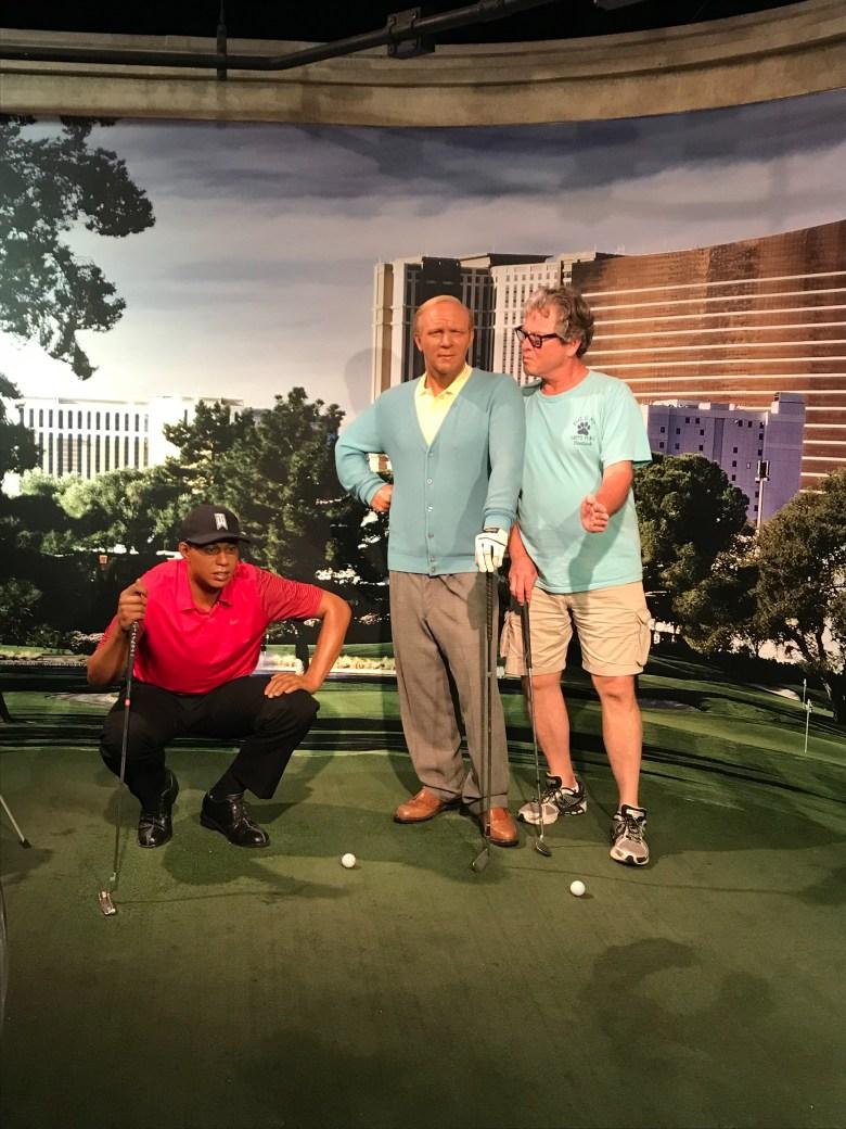 golf pros Madame Tussaud's Las Vegas