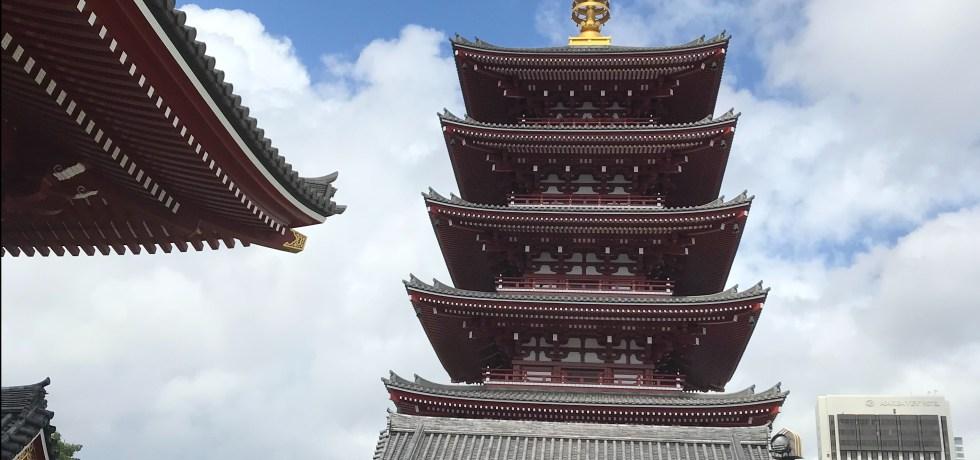 Tokyo temple Asakusa Senso-ji