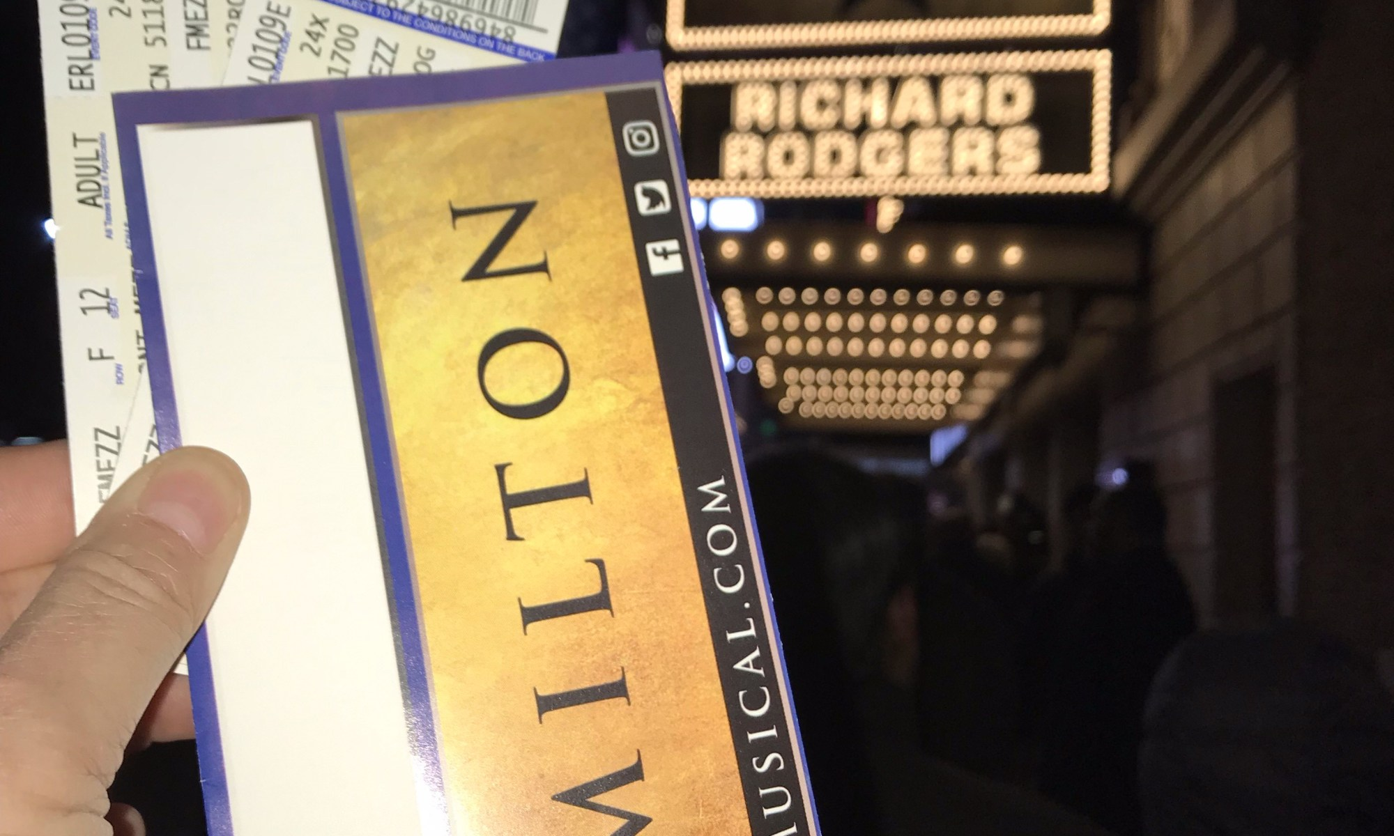 Hamilton tickets New York City