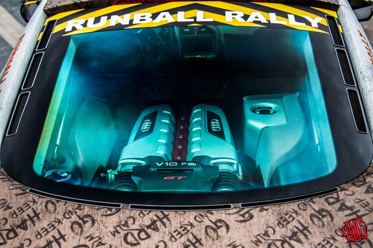 Runball Rally - Starting Grid