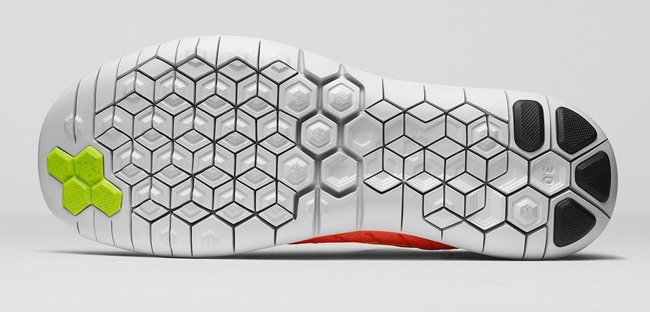 Nike Free Flyknit 3.0 - Dettaglio della suola