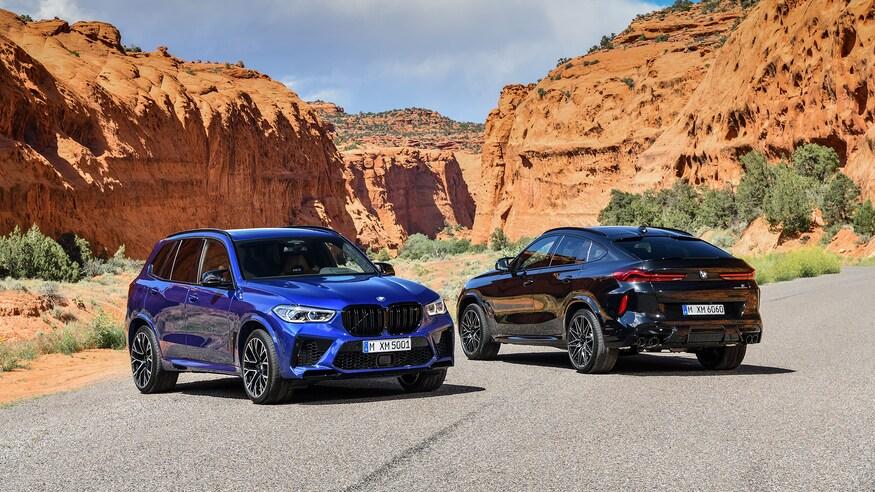 BMW X5 M y X6 M 2020