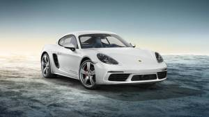 Porsche Cayman 718 blanco