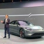 Sony revela el concept Vision-S, afirma ser parte del futuro de los autos eléctricos