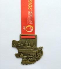 Yaroslavl Half 2016 medal