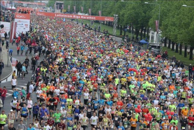 Riga Marathon 2016 Start