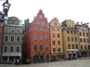 Wintry, wonderful Stockholm.