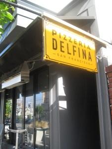 Pizzeria Delfina.