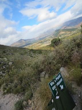 Hiking trail at La Motte...