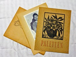 Dagens loppisfynd: tre nummer av Paletten från 40-talet.