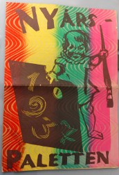 """Nyår 1973 – en färgglad föregångare till """"Paletten""""."""