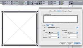 """I dagens layoutprogram fixar du en ram """"lätt som en plätt""""."""