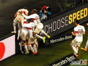 In Stuttgart darf wieder gefeiert werden. Bild © VfB-Bilder.de