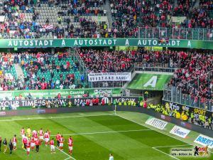 Hilflos und fluchend: VfB-Fans Bild © VfB-Bilder.de