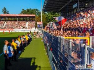 Ein Stadion in Rot-Weiß. Bild © VfB-Bilder.de