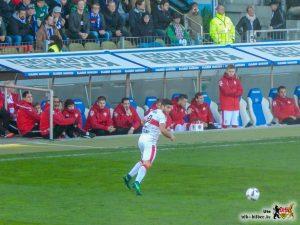 Emiliano Insua war an fast jedem Tor beteiligt. Bild © VfB-Bilder.de