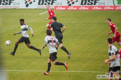 So viel Platz hatte der VfB selten, er machte nichts draus. Bild: © VfB-Bilder.de