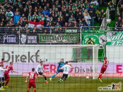 Hinten unaufmerksam, vorne einfallslos - beim VfB klappte nichts mehr. © VfB-Bilder.de