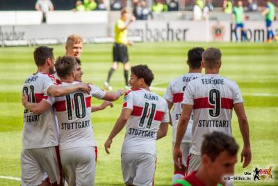 Asano, der Derby-Doppelpacker! © VfB-Bilder.de