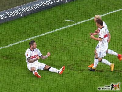 Ginczek mit seinem zweiten Treffer in einer Woche. Bild: © VfB-Bilder.de