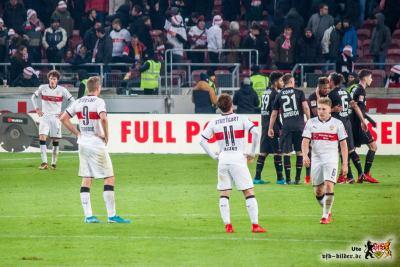Etwas ratlos ist auch die Mannschaft. Bild: © VfB-Bilder.de
