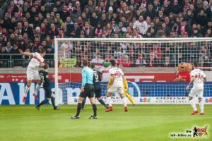 Eine der wenigen guten Chancen des VfB...durch die Mitte. Bild: © VfB-Bilder.de
