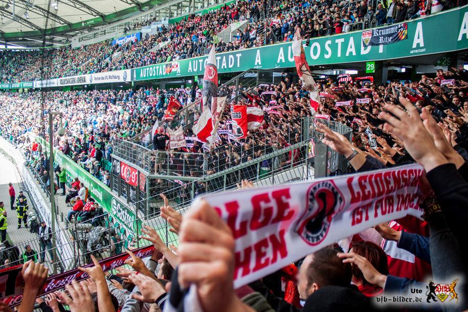 Rund um das Spiel in Wolfsburg