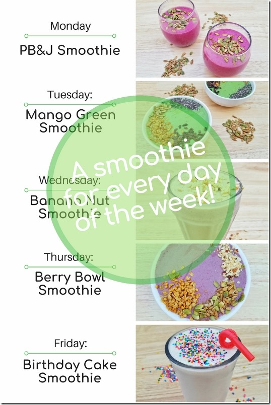 5 Smoothie Recipes With Yogurt For Every Day Of The Week 1 534x800