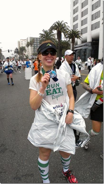 la marathon recap pr run instagram