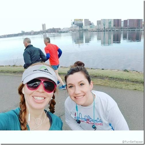 boston marathon day 1 blog where to run