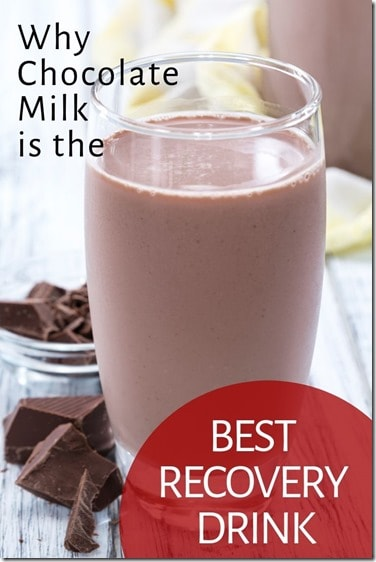 Best Post-Run Drink chocolate milk after a run workout recovery