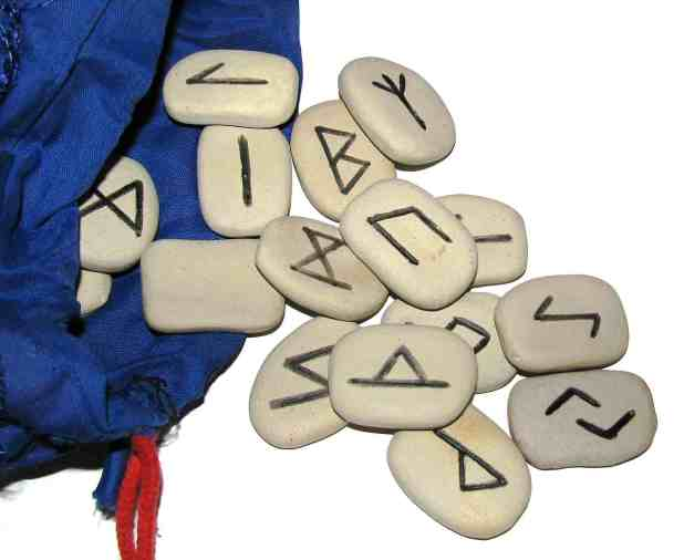 Rune Stones With Bag