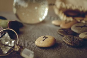 Why use rune stones when asking about romance?