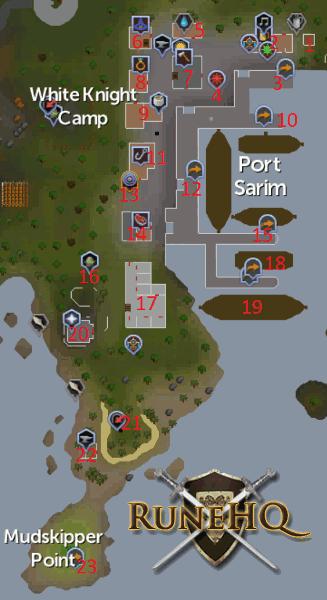Port Sarim Jail : sarim, Sarim, Mudskipper, Point, RuneScape, Guide, RuneHQ