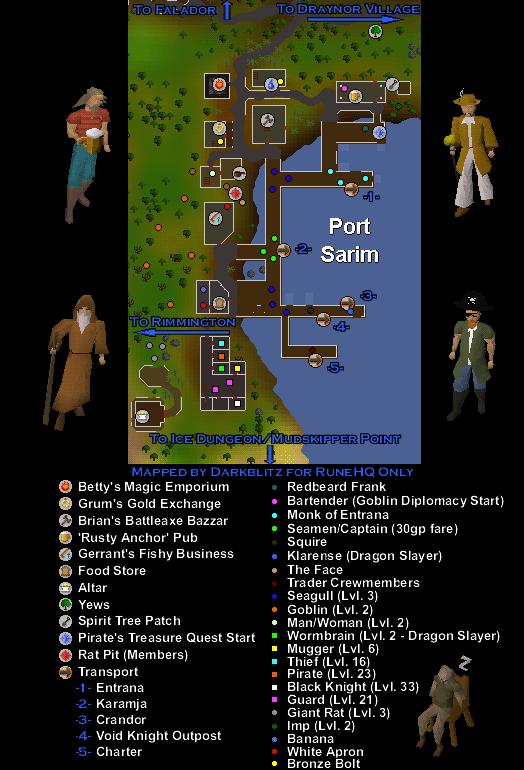 Port Sarim Jail : sarim, Sarim, RuneScape, Guide, RuneHQ