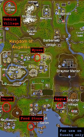 Osrs World Map : world, Goblin, Diplomacy, RuneScape, Guide, RuneHQ