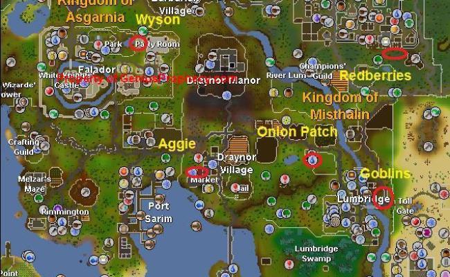 Runescape Quest Guides Goblin Diplomacy Runescape Tips