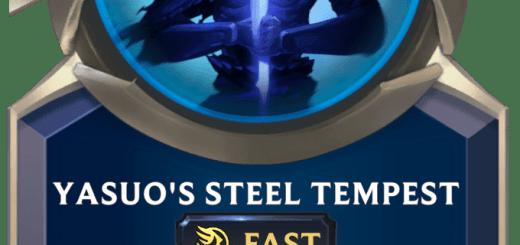 Yasuo's Steel Tempest