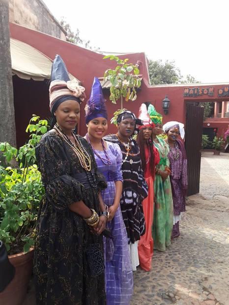 Des tenues traditionnelles...