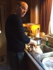 Stuffing the bird!