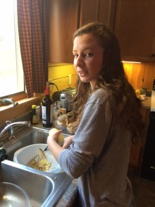 Reluctant teenager labor.