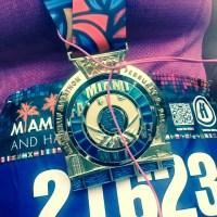Miami Half Marathon Recap