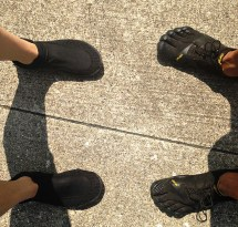 Running Barefoot vs Shoes