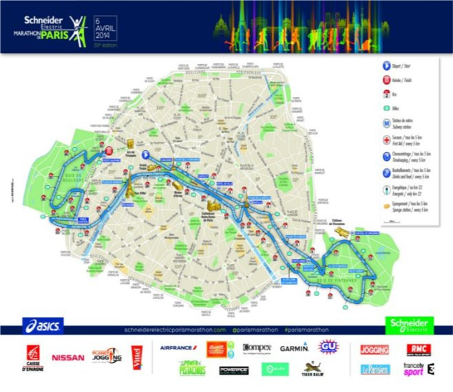 Paris-marathon-map
