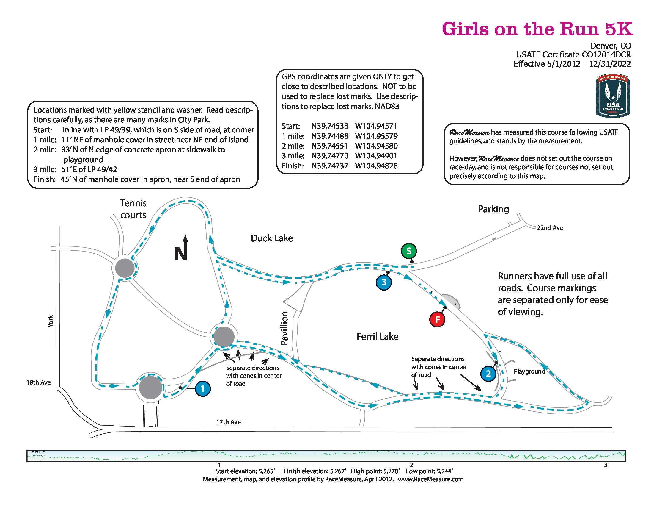 Denver Girls On The Run K Date Registration Course Route - How to map out a run