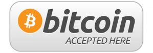 logo bitcoin accepté ici