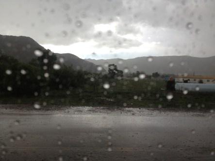 rainy season means roads are impassable!