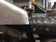 réservoir tôle d'aluminium HARLEY DAVIDSON by run iron works. l'ajustage doit être parfait